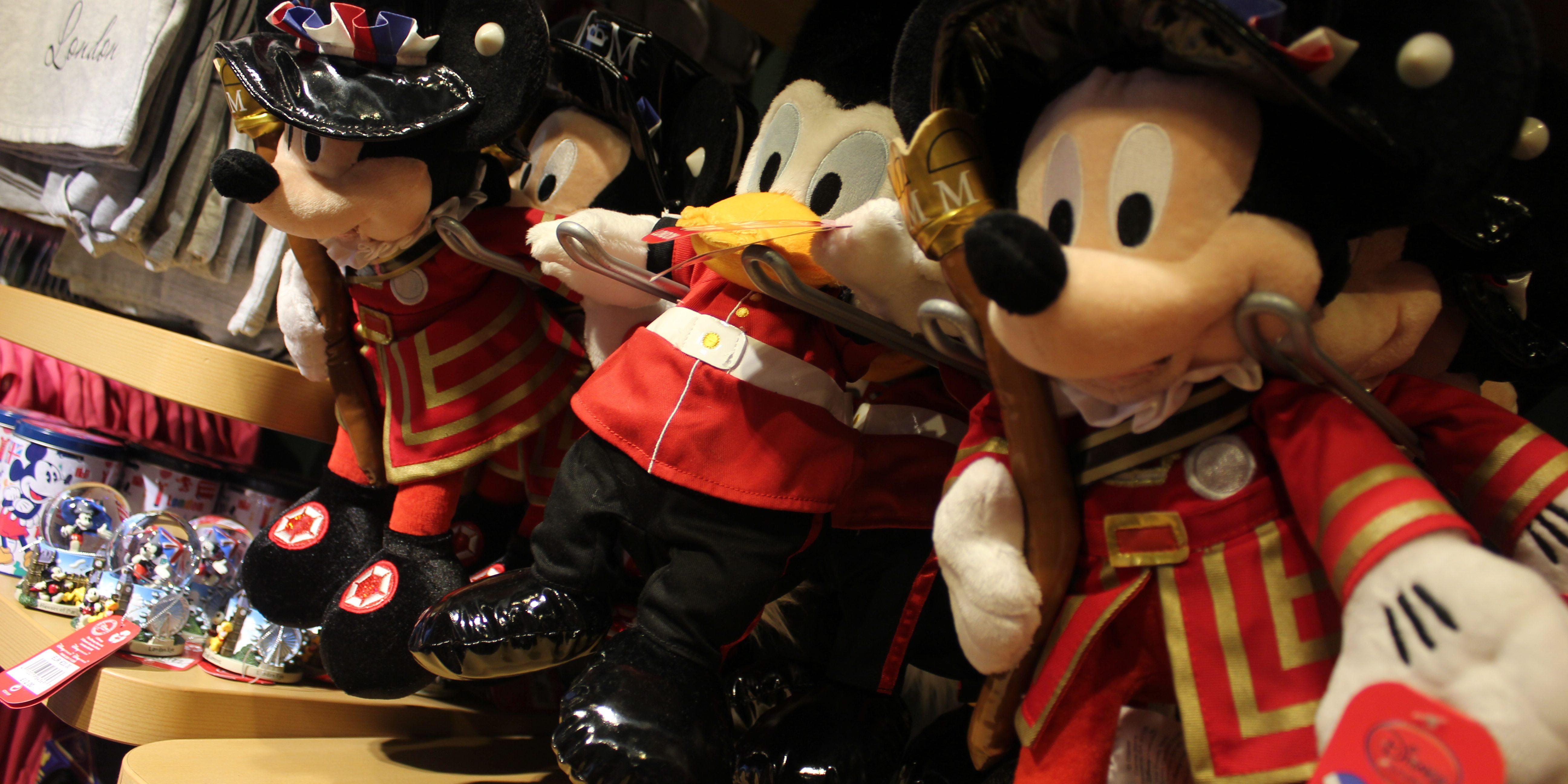 take a visit to disney store on oxford street  london 25th Anniversary Disneyland Paris Disney World 25th