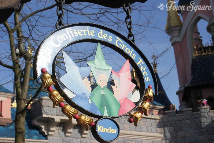 Sweet Shop in Fantasyland Logo