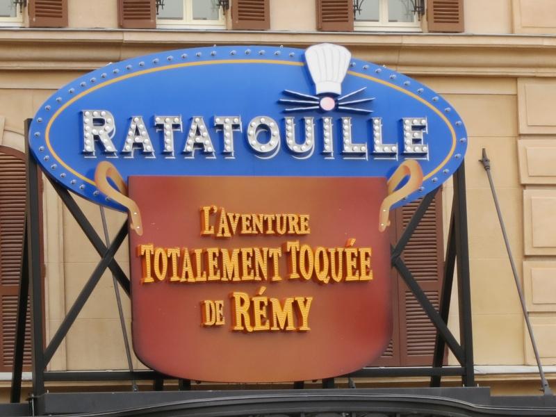 Ratatouille: L'Aventure totalement toquée de Rémy sign