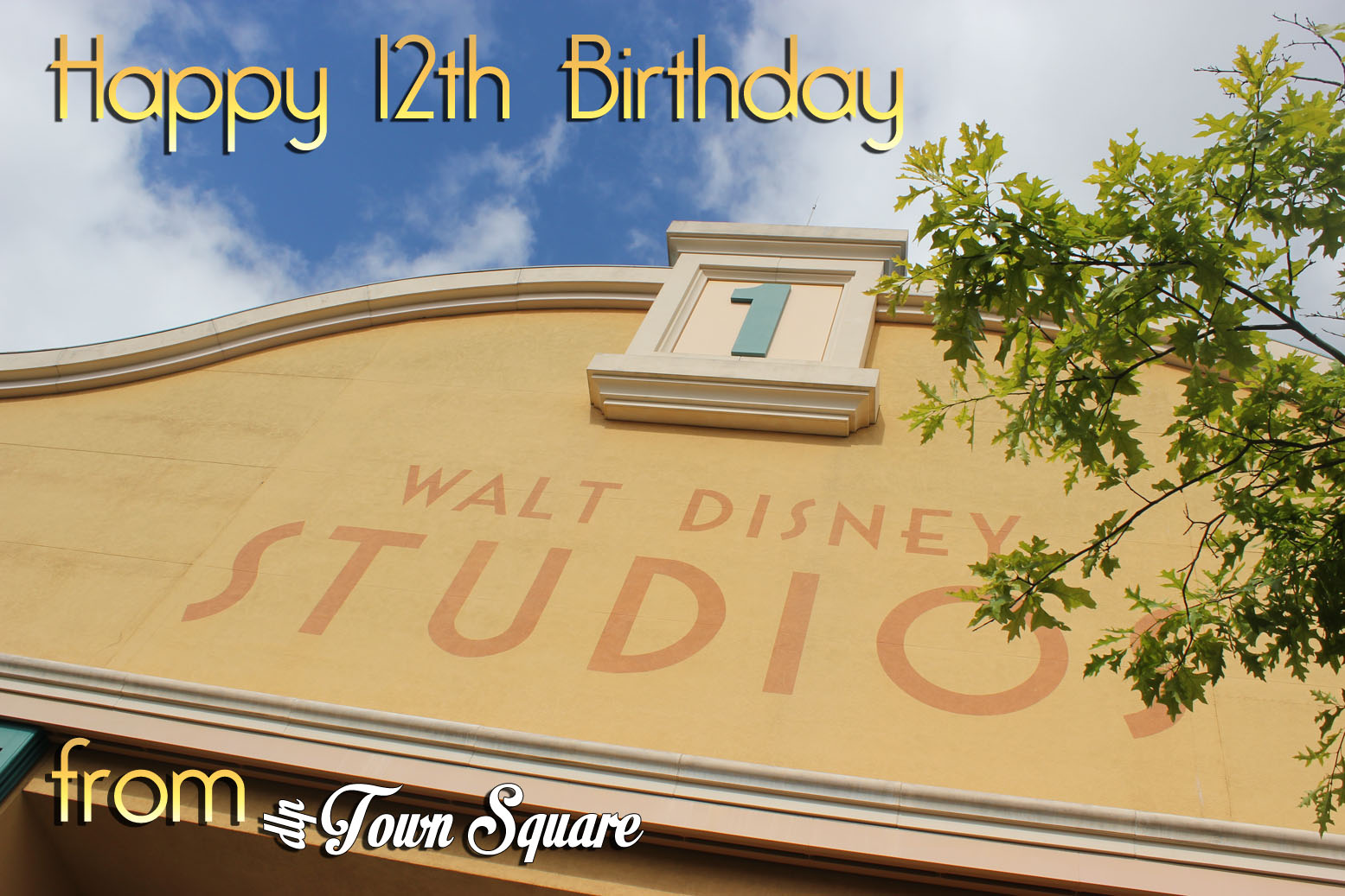 Happy 12th Birthday Walt Disney Studios Park, Paris