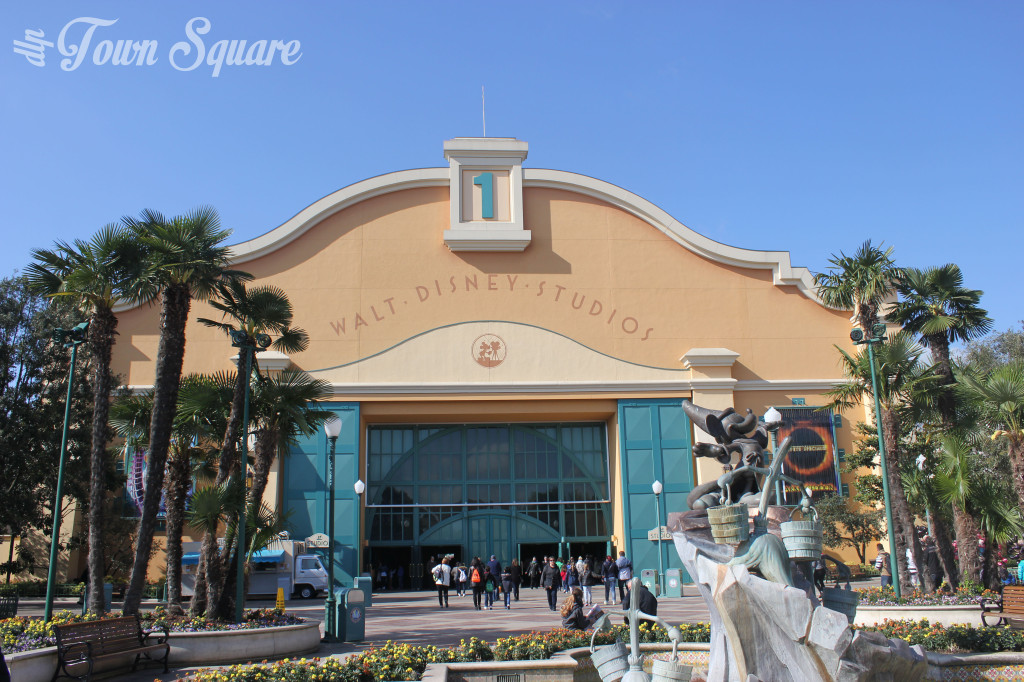 Walt Disney Studios Front Lot