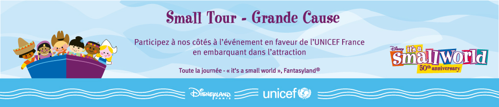Small World 50 Marathon - Disneyland Paris poster