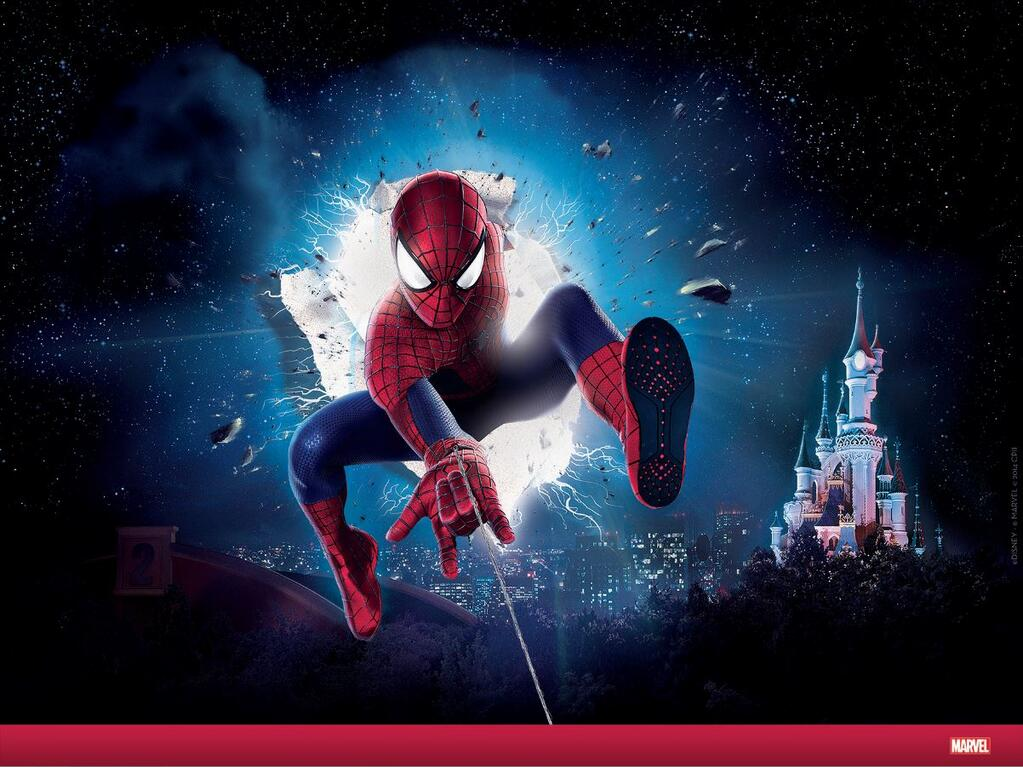 Spider-Man Disneyland Paris Visual