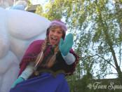 Anna in Disney Magic on Parade