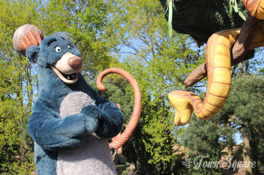 Baloo in Disney Magic on Parade