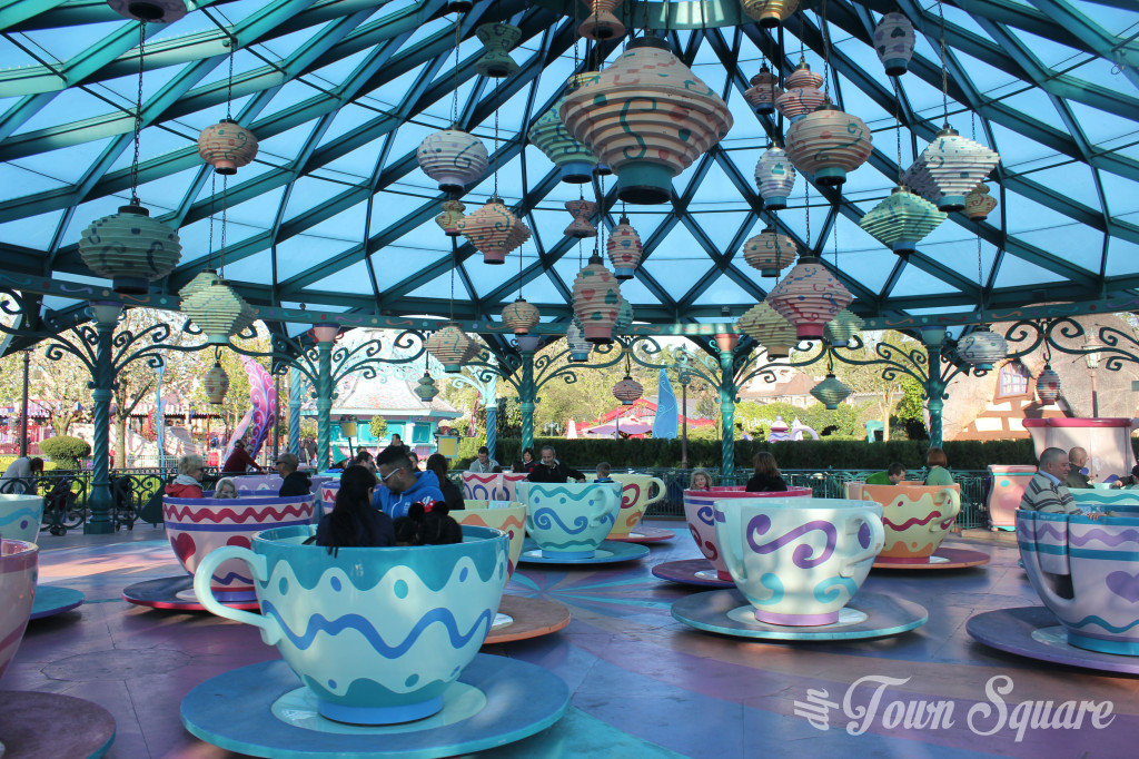 Mad Tea Party Disneyland Paris
