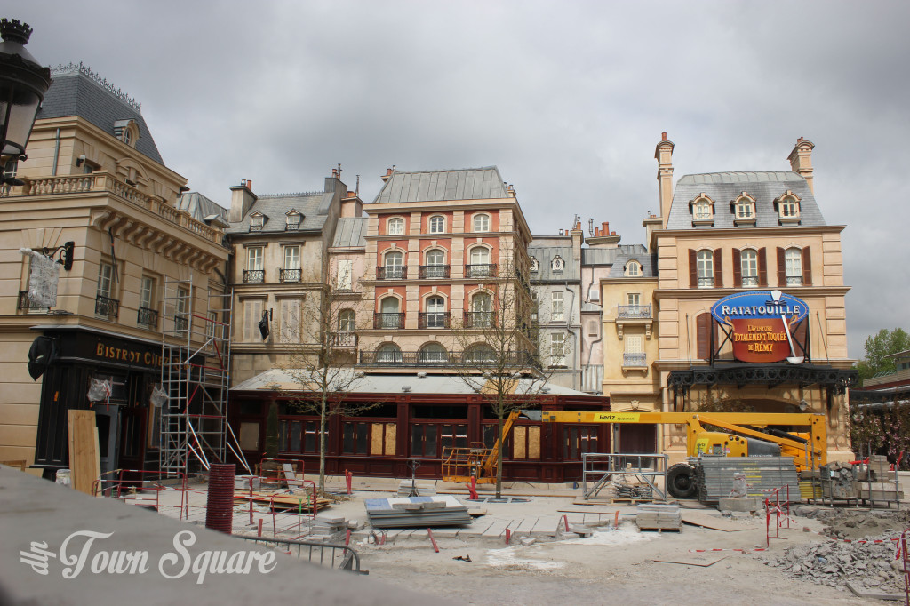 Construction works on Disneyland Paris Ratatouille La Place de Rémy