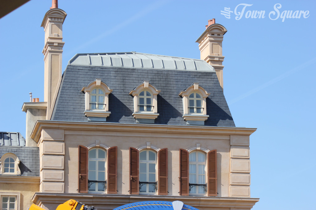 Disneyland Paris Ratatouille construction facades
