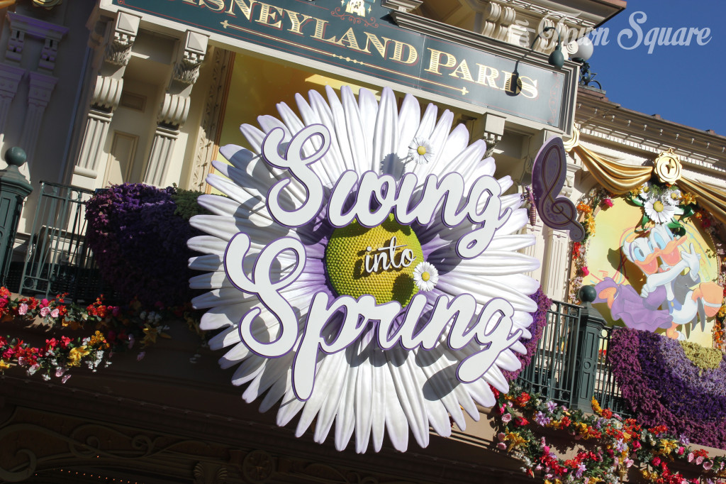 Swing into Spring logo Disneyland Paris