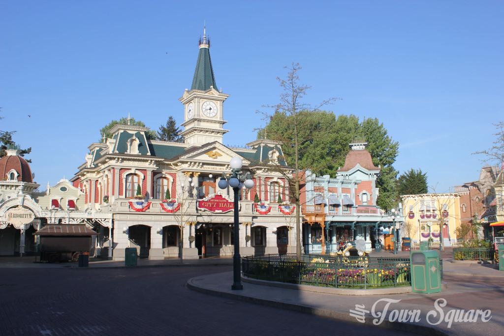 City Hall in Disneyland Paris