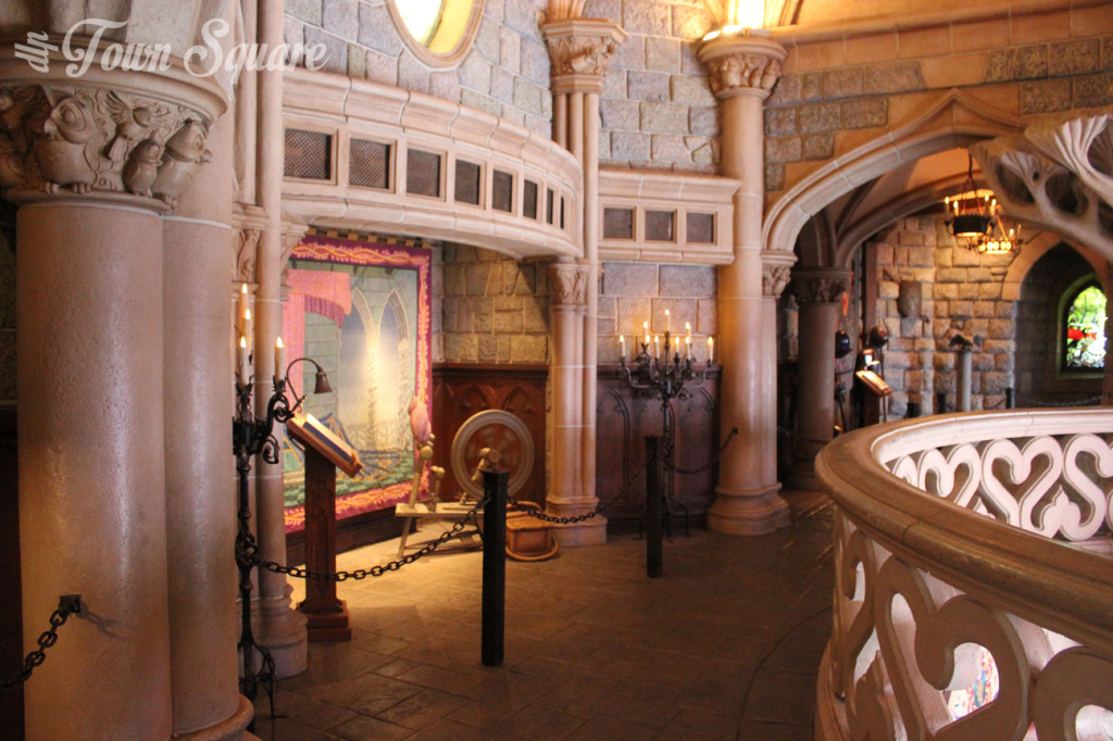 Castle Gallery at Disneyland Paris