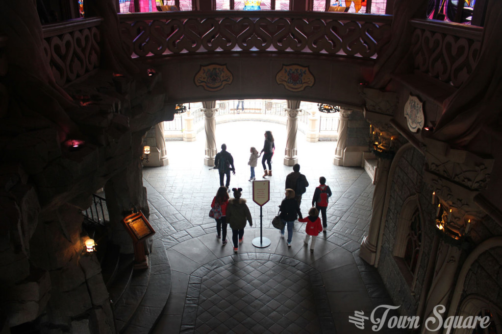 Inside the Castle in Disneyland Paris