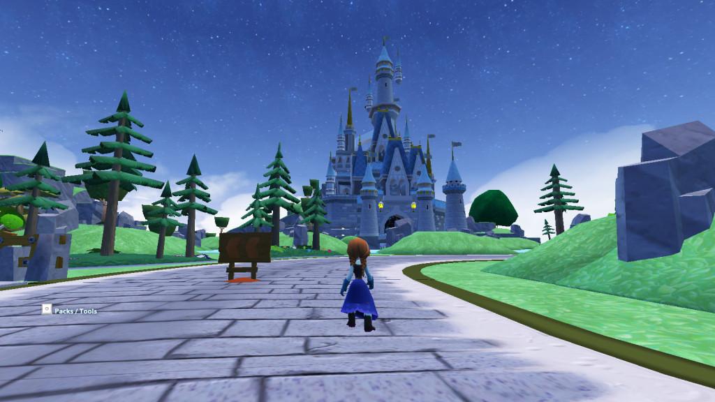 Castle in Disney Infinity