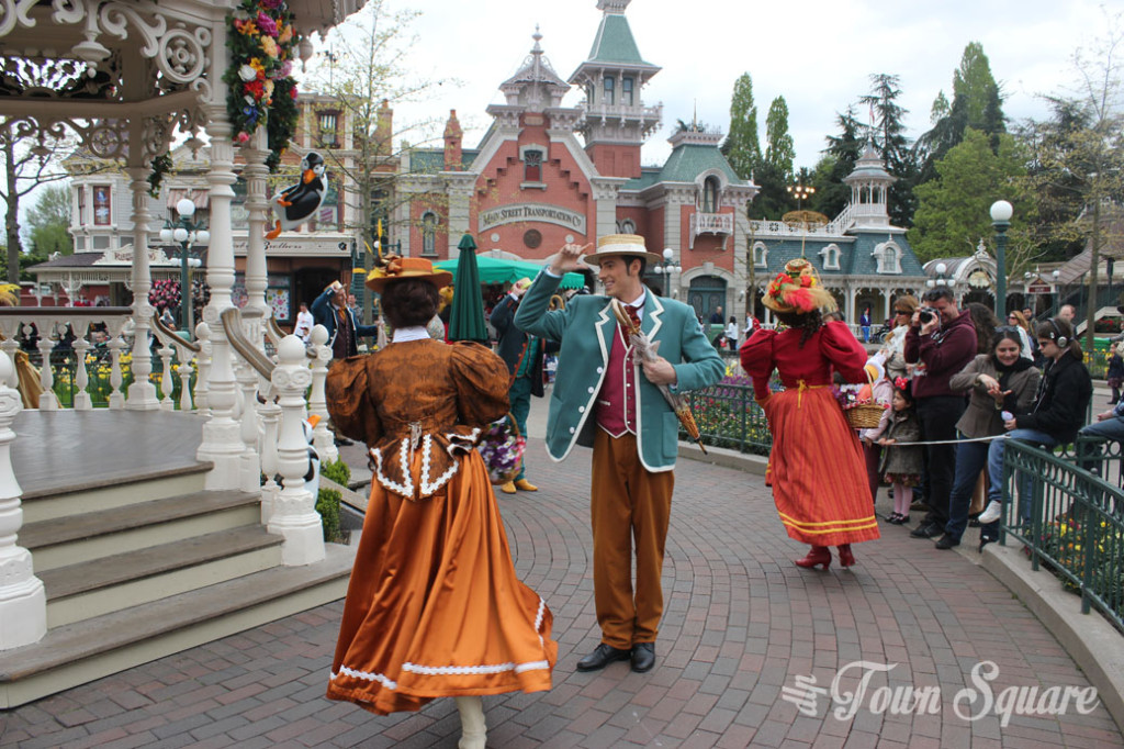 Opening of 'Welcome to Spring' at Disneyland Paris