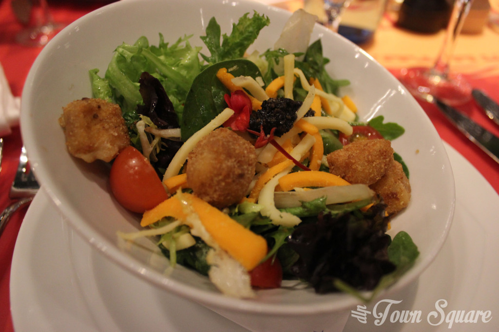 Bistrot Chez Rémy Starter Salad at Disneyland Paris