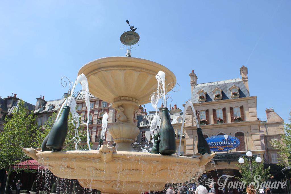 La Place de Rémy at Disneyland Paris
