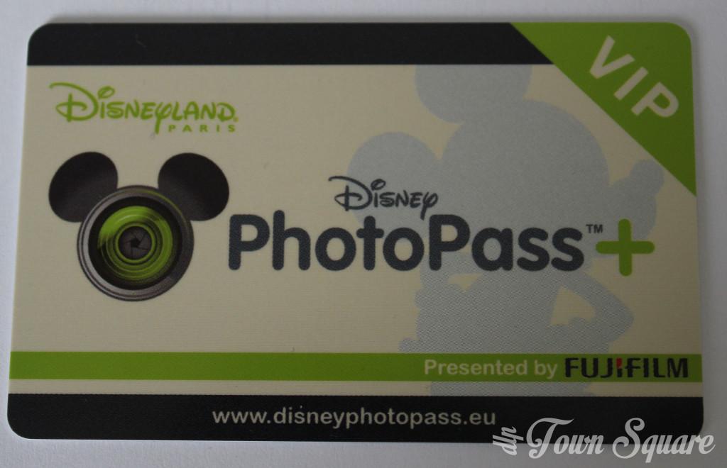 Disneyland Paris PhotoPass+ card