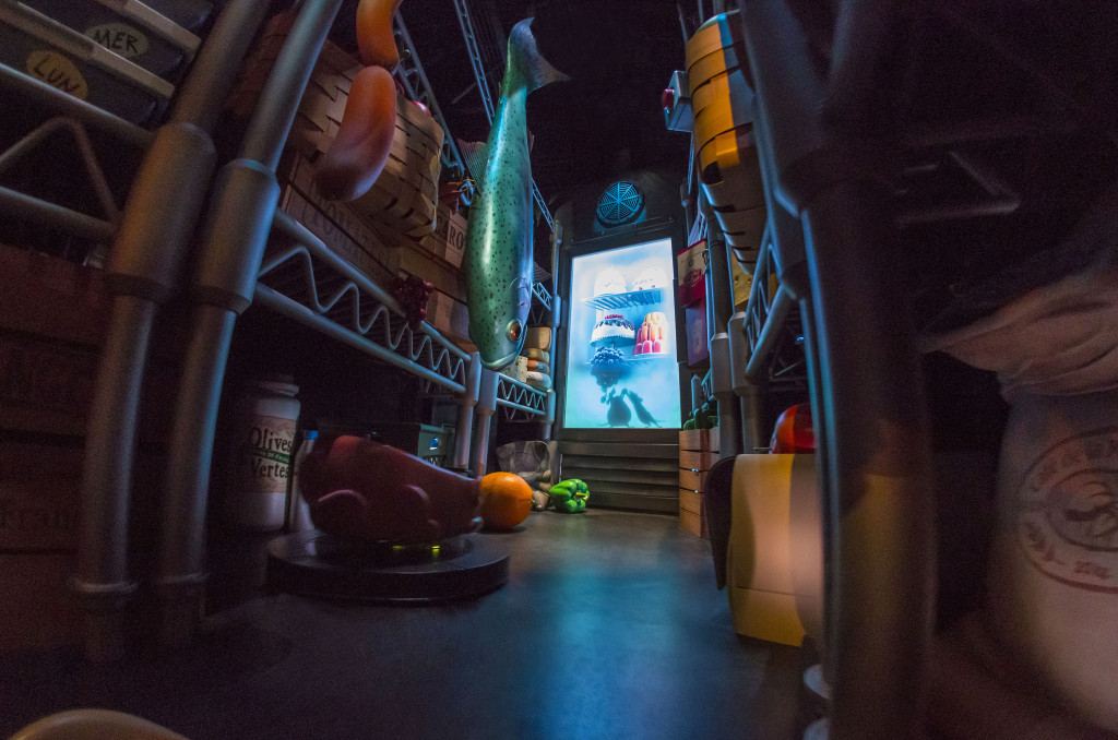 The Pantry of the Ratatouille attraction in Disneyland Paris