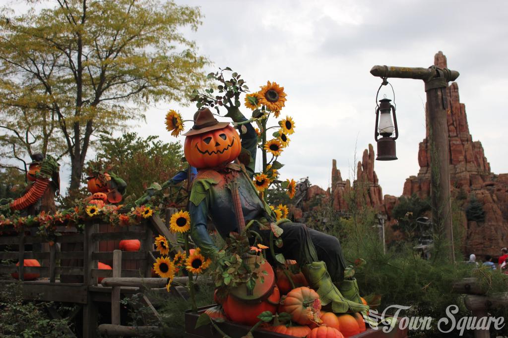 Halloween Frontierland Disneyland Paris