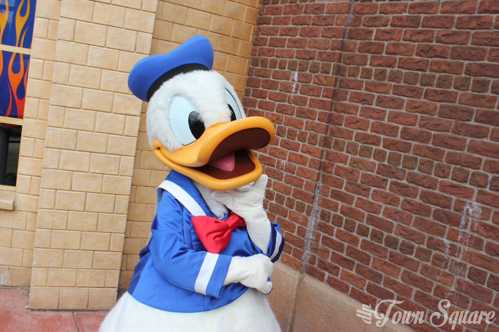 Donald Duck at Walt Disney Studios Park