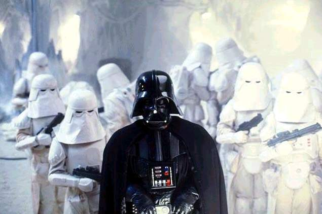Darth Vader on Hoth