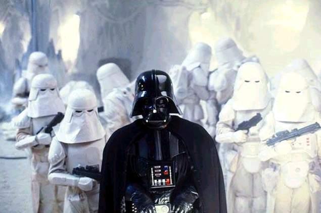 Darth Vader on Hoth