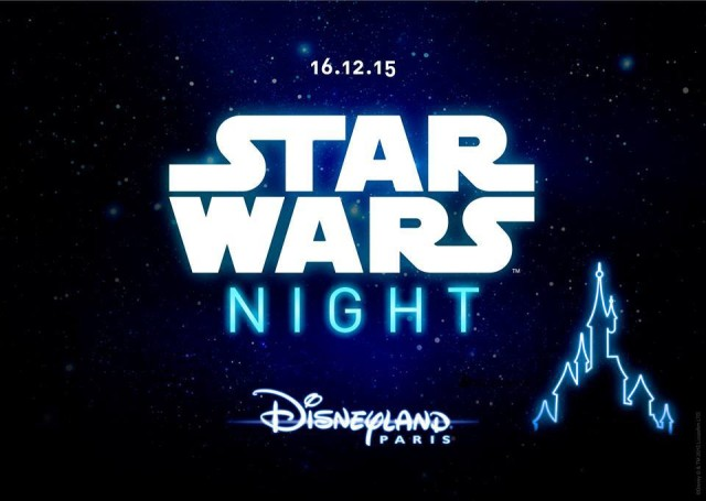 The poster for Disneyland Paris's Star Wars Night