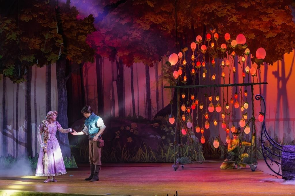 Tangled Scene during the Forest of Enchantment