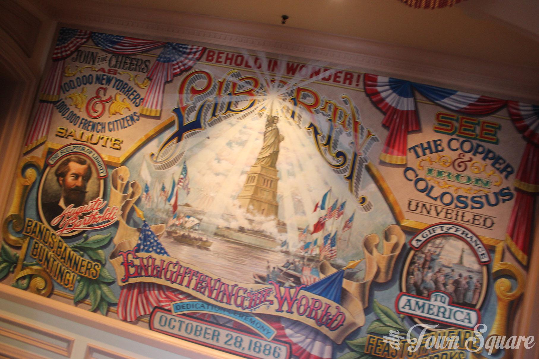 Liberty Arcade Mural
