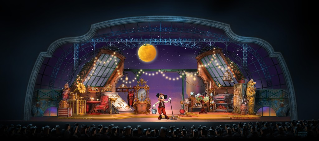 Mickey and the Magician Concept Art