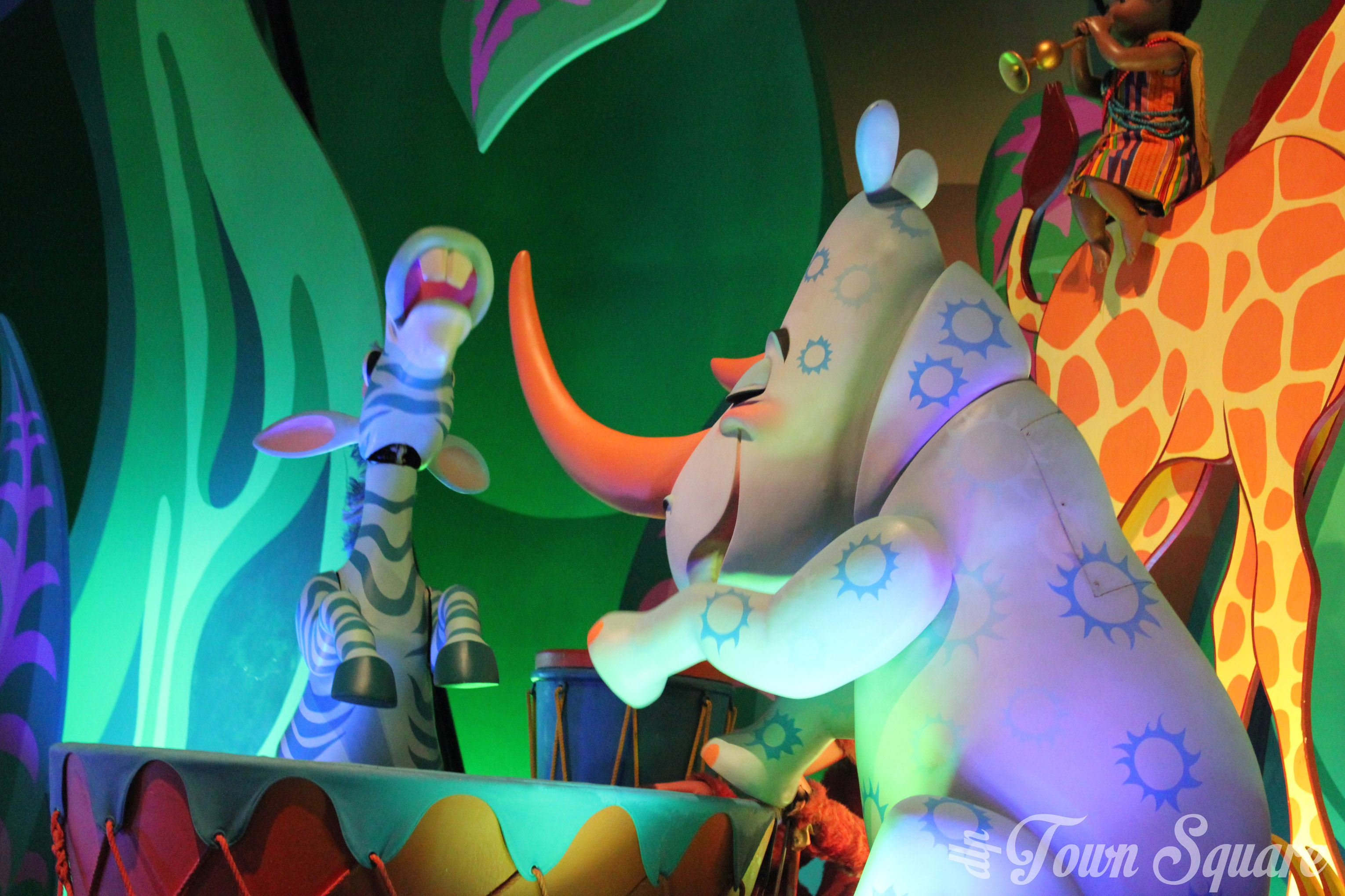 it's a small world in Disneyland Paris