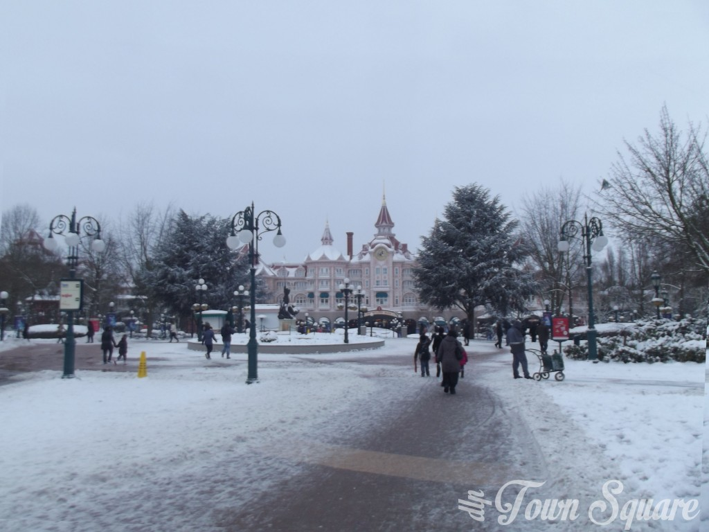 Fantasia Gardens in the snow