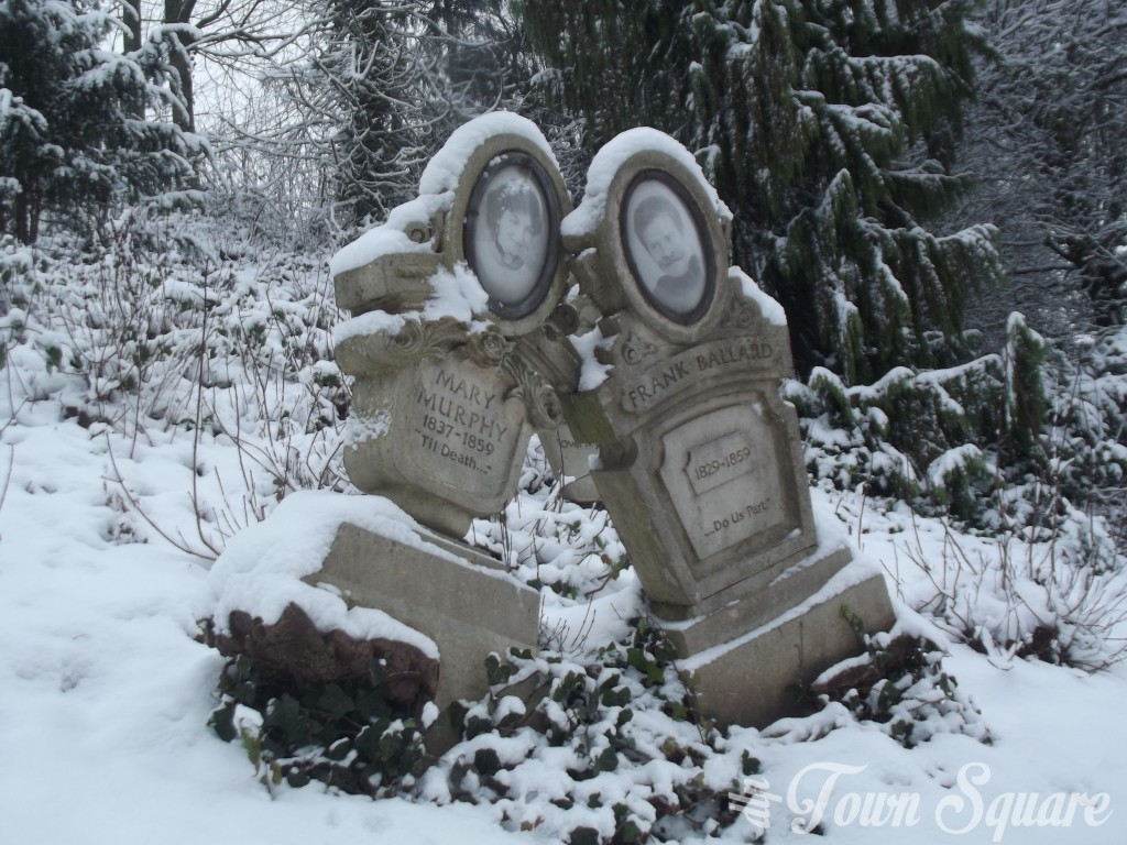 Phantom Manor in the snow