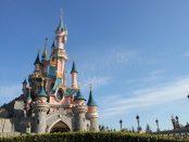 The Sleeping Beauty castle at Disneyland Paris
