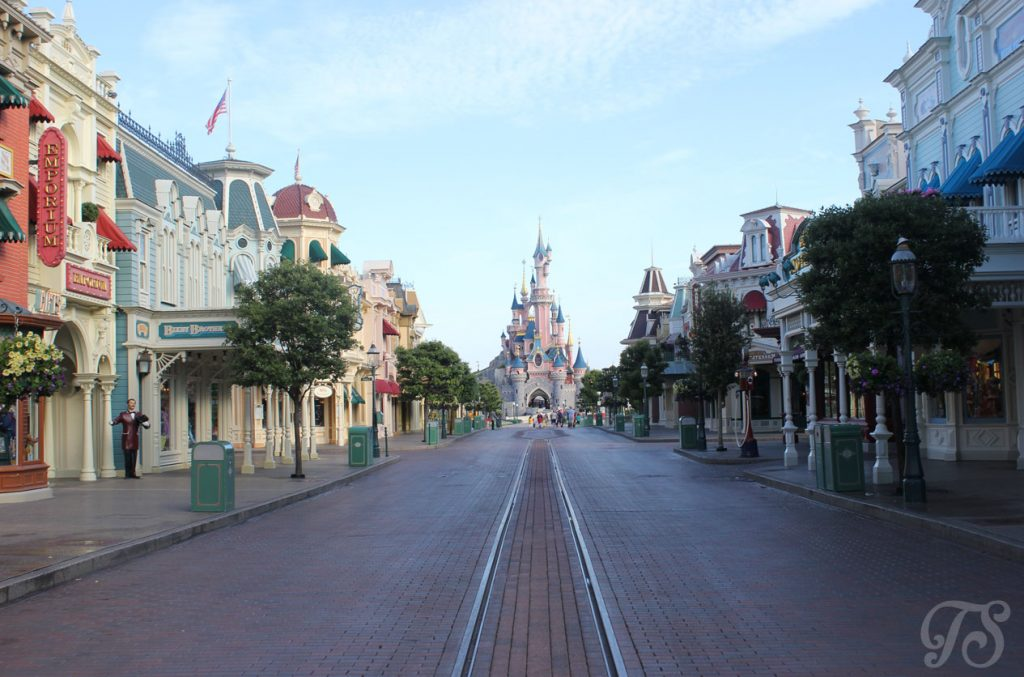 Main Street at Disneyland Paris.