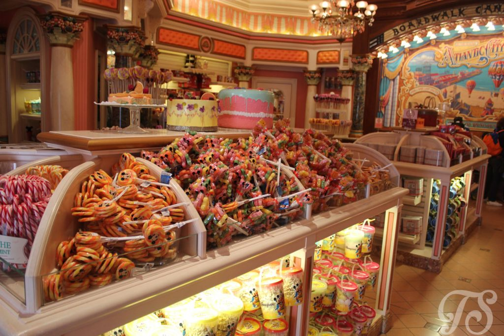 Main Street Disneyland Paris Boardwalk Candy