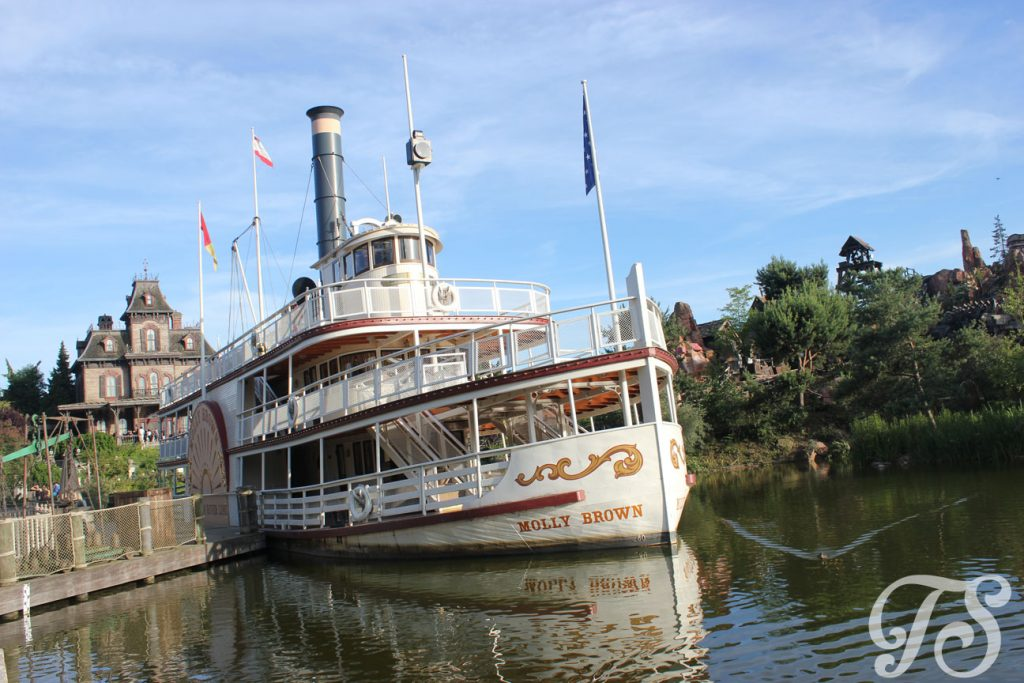 Molly Brown in Frontierland Disneyland Paris