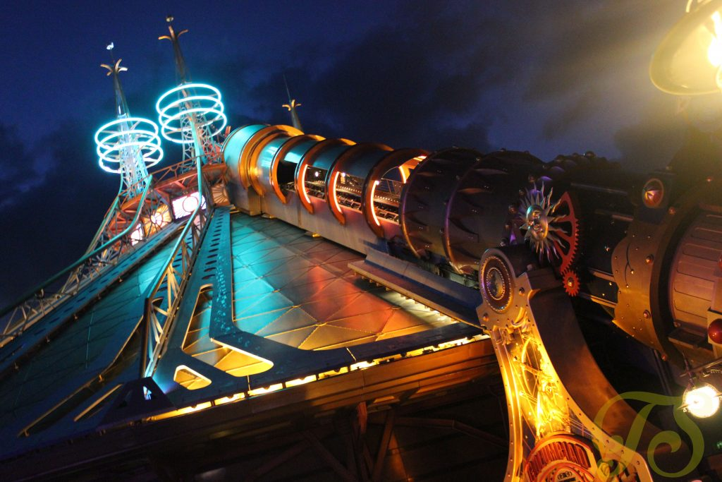 Space Mountain in Discoveryland Disneyland Paris