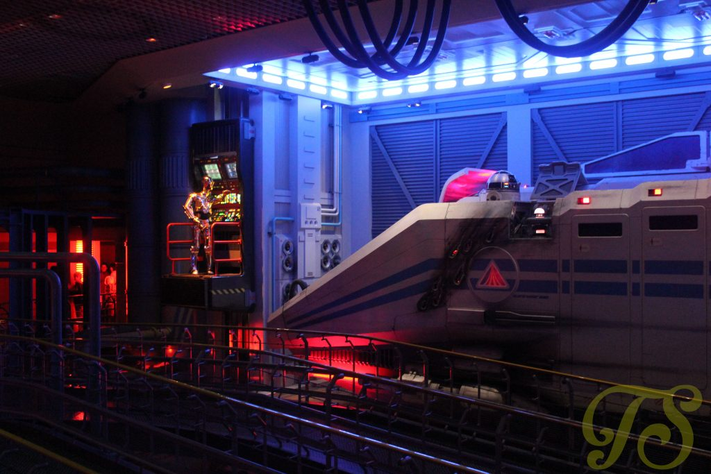 StarTours in Discoveryland Disneyland Paris
