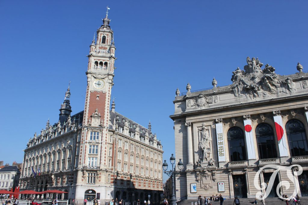 The Place du Théâtre in Lille