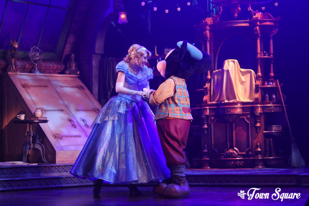 Cinderella in Mickey and the Magician