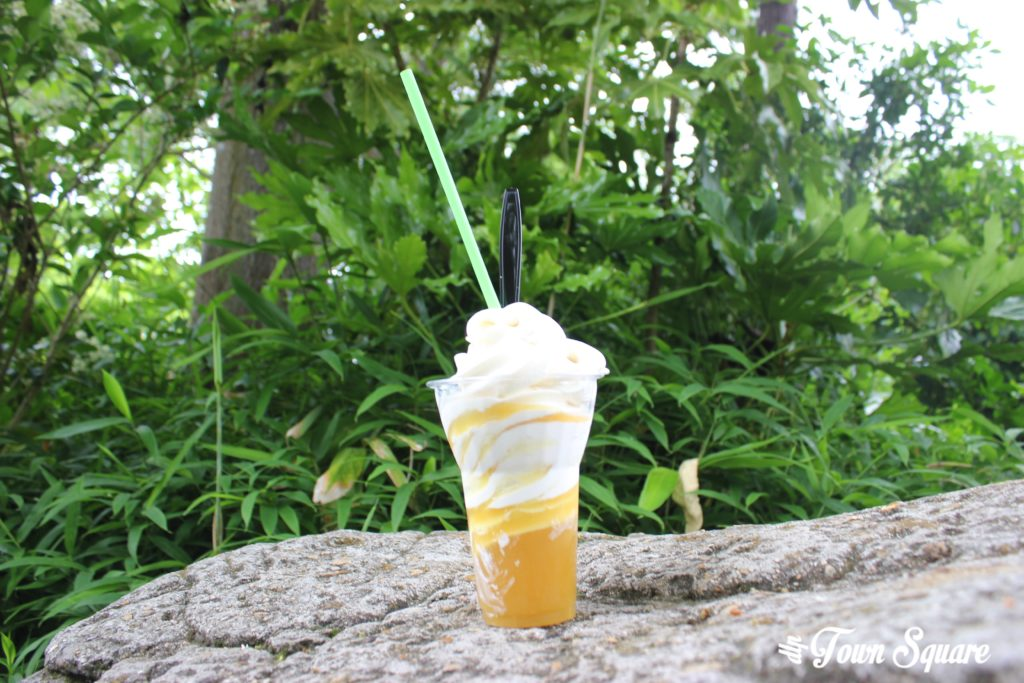 Pineapple Whip at Disneyland Paris