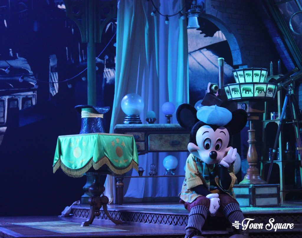 Sad Mickey in Mickey and the Magician