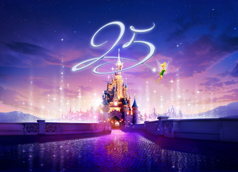 Disneyland Paris 25th Anniversary Visual