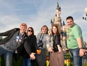 Group castle photo