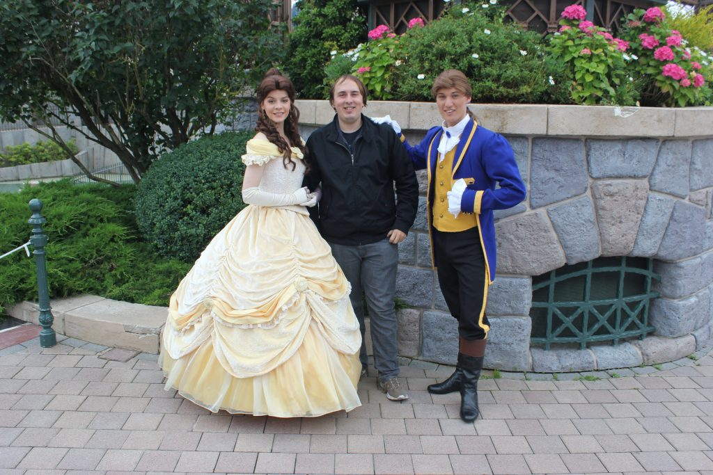 Geoff with Belle and Beast