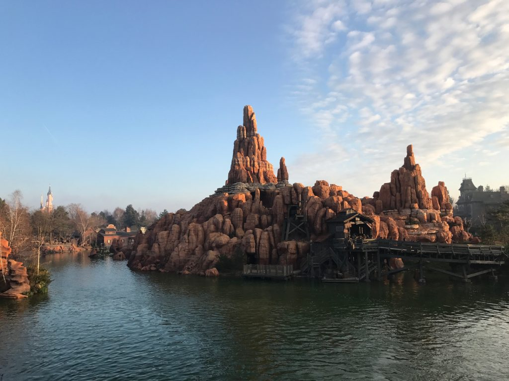 Big Thunder Mountain from the Molly Brown