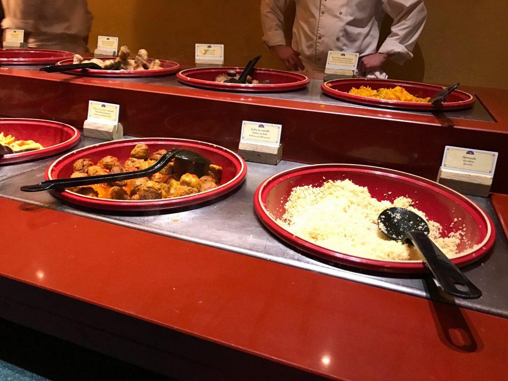 Agrabah Cafe Food