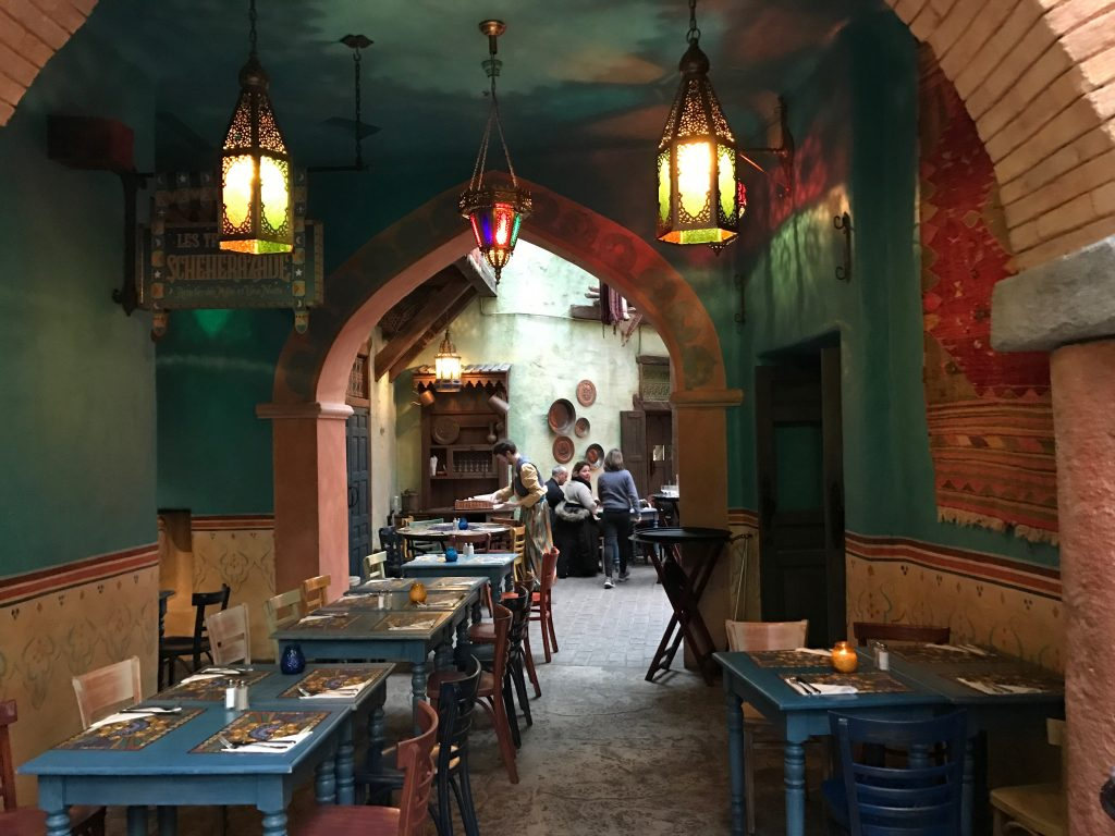 Agrabah Cafe Interior