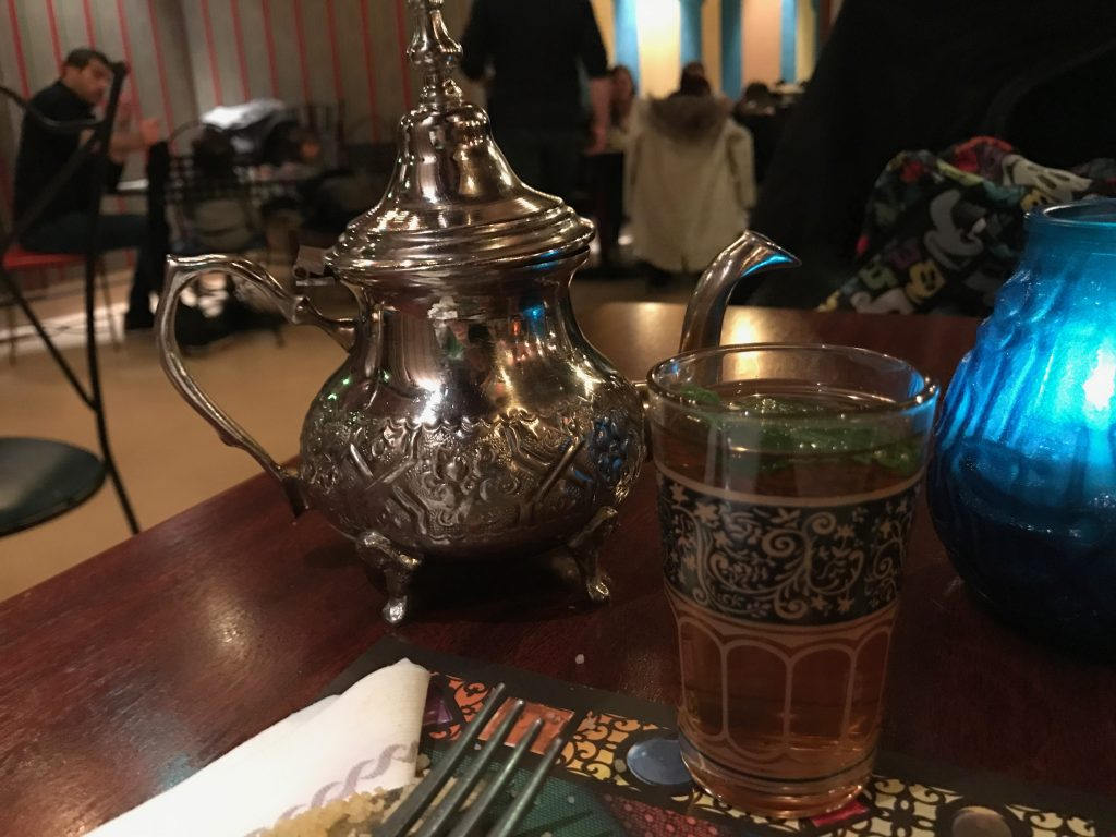 Agrabah Cafe Mint Tea